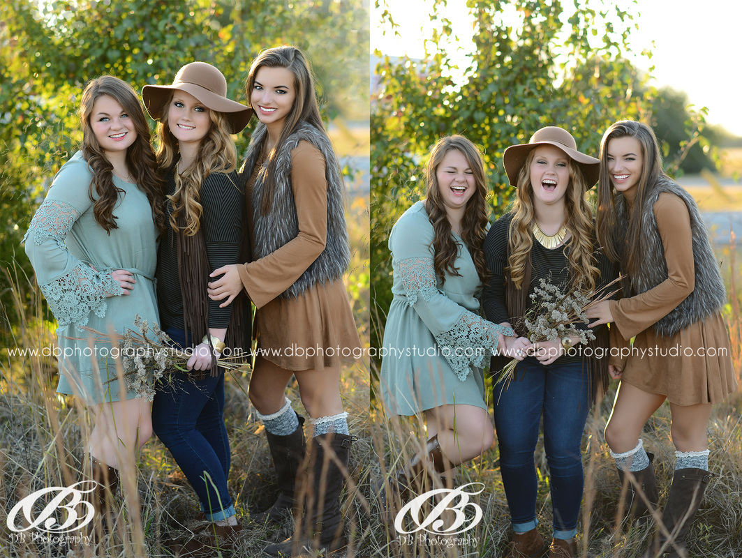 Central Arkansas Senior Photographer | McCrory Arkansas | DB Photography | Seniors by DB Photography | Bestfriend session with DB Photography | fall senior pictures | flowers and boots |
